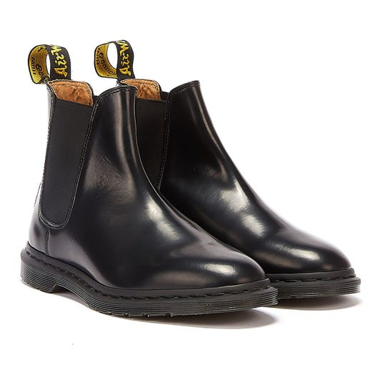 Dr. Martens Graeme II Smooth Mens Black Boots