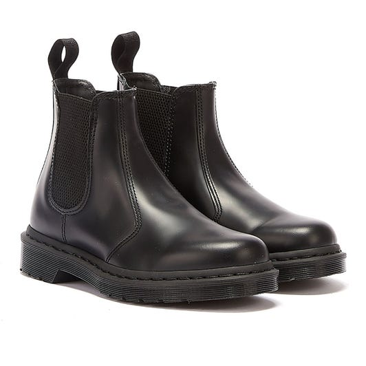 Dr. Martens 2976 Smooth Leather Mono Womens Black Boots