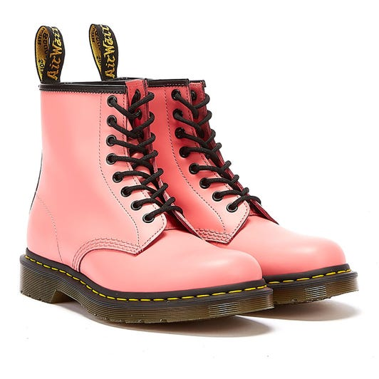 Dr. Martens 1460 Smooth Leather Womens Acid Pink Boots