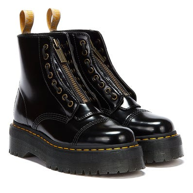 Dr. Martens Sinclair Oxford (Vegan) Womens Black Boots