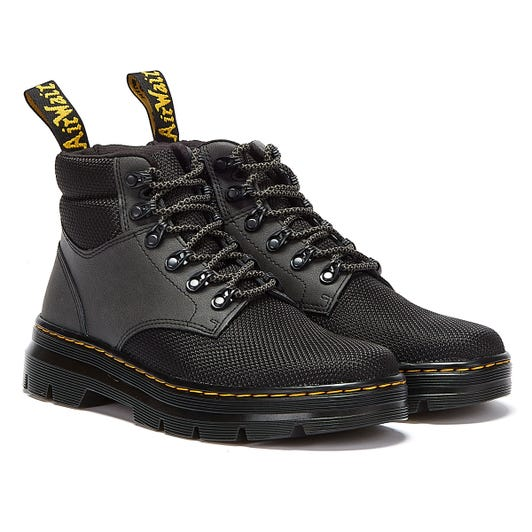 Dr. Martens Rakim Hunter & Poly Black Boots