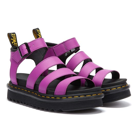 Dr. Martens Blaire Hydro Womens Bright Purple Sandals
