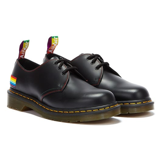 Dr. Martens 1461 Smooth Pride Black Shoes