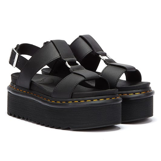 Dr. Martens Francis Hydro Womens Black Sandals