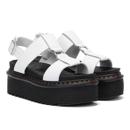 Dr. Martens Francis Hydro Womens White Sandals