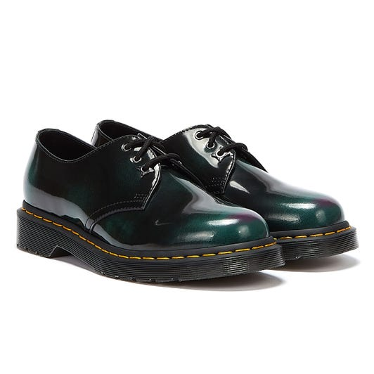 Dr. Martens 1461 Pascal Arcadia Black / Green Shoes