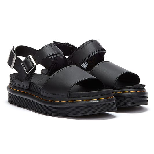 Dr. Martens Voss Hydro Womens Black Sandals