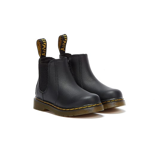 Dr Martens 2976 Softy T Toddlers Black Boots