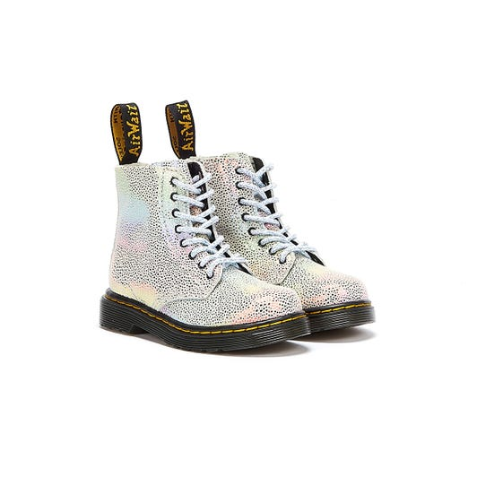 Dr Martens 1460 Pascal Kidray Toddlers Rainbow Boots