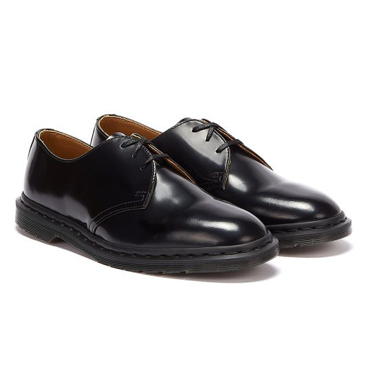 Dr. Martens Archie II Smooth Leather Mens Black Shoes