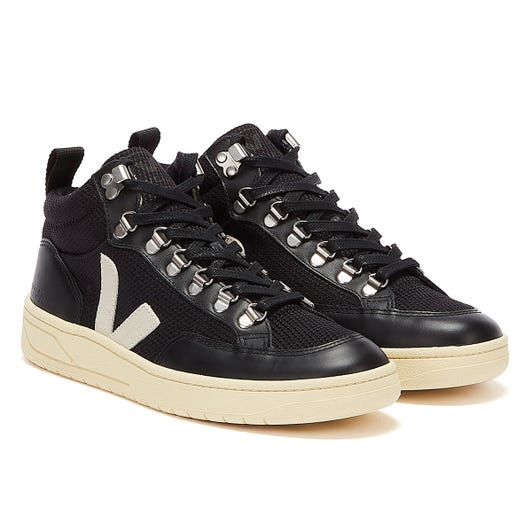 Veja Roraima B-Mesh Womens Black / Natural Butter Trainers