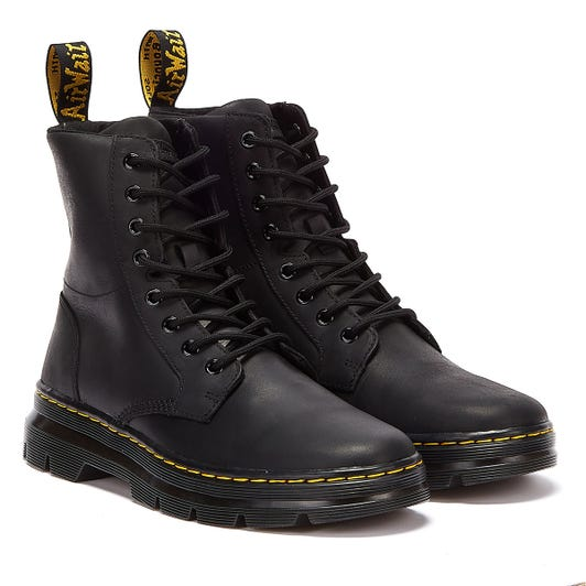 Dr. Martens Combs Wyoming Mens Black Boots