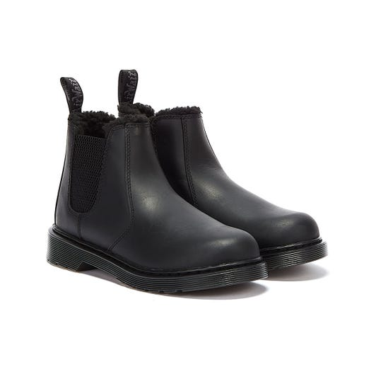 Dr. Martens 2976 Leonore Mono Youth Black Boots