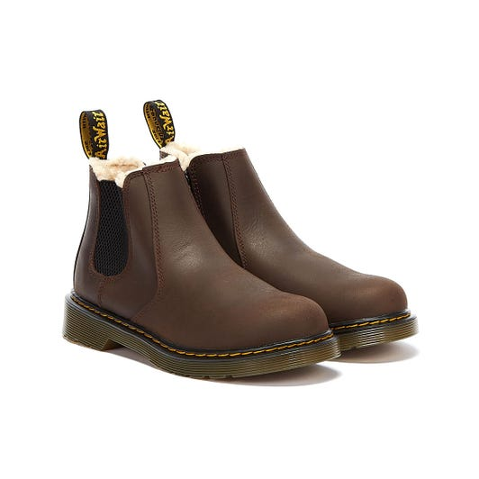 Dr. Martens 2976 Leonore Youth Dark Brown Boots