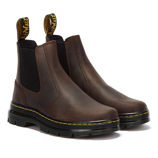Dr. Martens Embury Crazy Horse Mens Brown Boots
