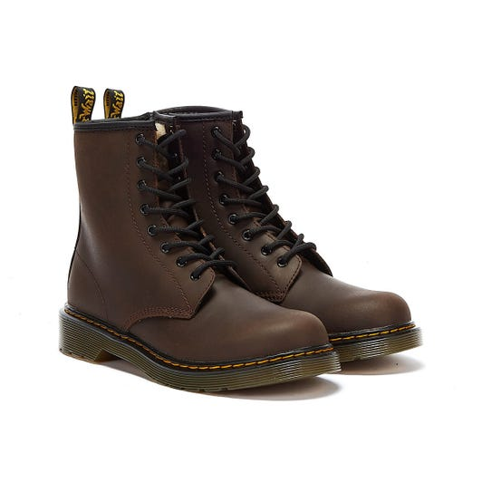 Dr. Martens 1460 Serena Youth Dark Brown Boots