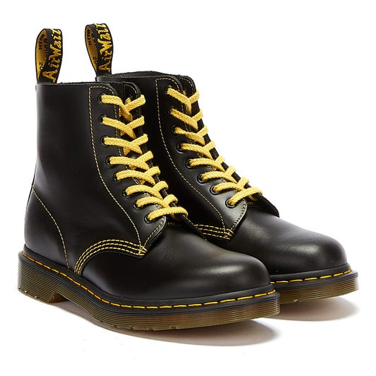 Dr. Martens 1460 Pascal Atlas Mens Dark Grey Boots
