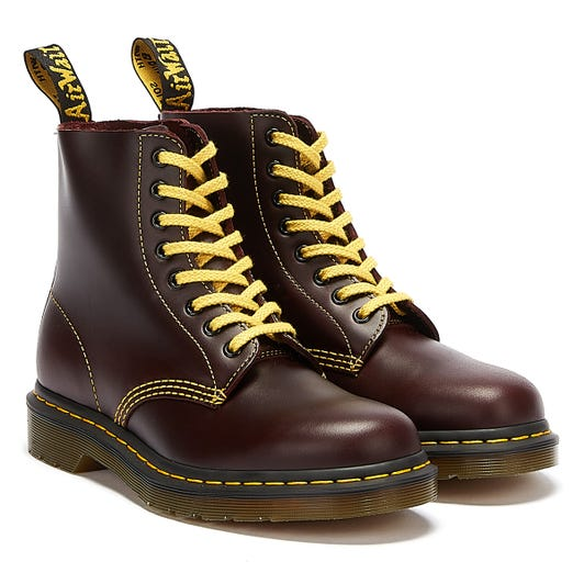 Dr. Martens 1460 Pascal Atlas Mens Brown Boots