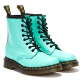 Dr. Martens 1460 Smooth Leather Womens Peppermint Green Boots