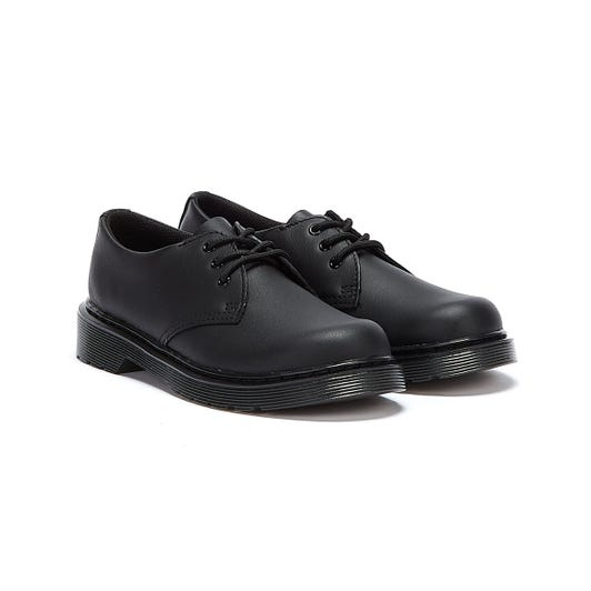 Dr. Martens 1461 Mono Softy Junior Black Shoes