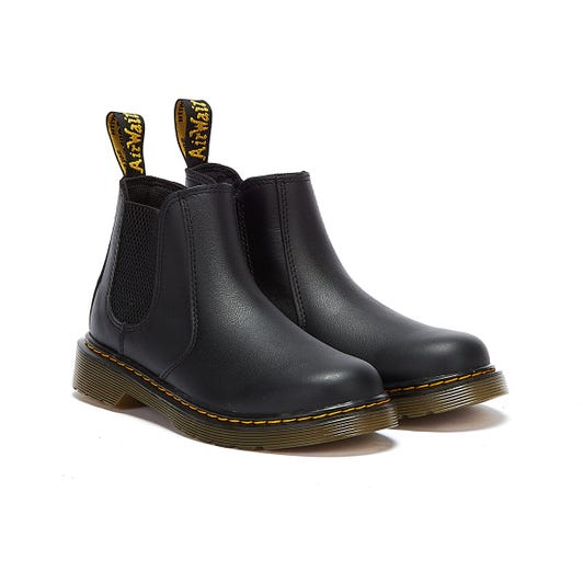 Dr. Martens 2976 Softy T Junior Black Boots