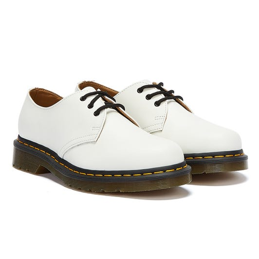 Dr. Martens 1461 Smooth White Shoes