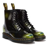 Dr. Martens 1460 Pascal Arcadia Black / Green Boots