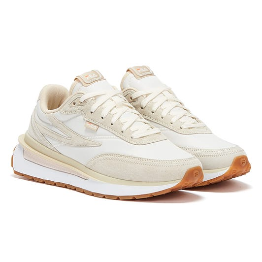 Fila Renno Womens Beige / White Trainers