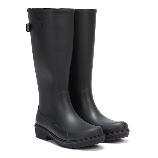 FitFlop Wonderwelly Tall Womens Midnight Navy Boots