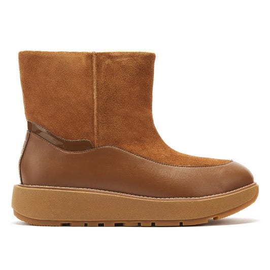 FitFlop Elin Womens Tan Suede Boots