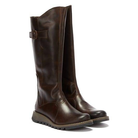 Fly London Mol 2 Rug Womens Dark Brown Boots