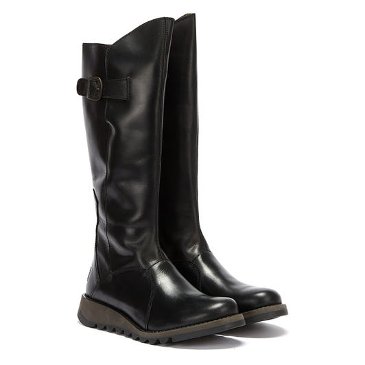 Fly London Mol 2 Rug Womens Black Boots