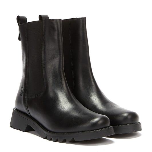 Fly London Rein Womens Black Boots