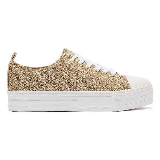 GUESS Brigs Womens Beige Trainers