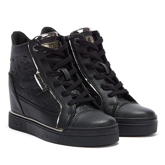 GUESS Fabia Womens Black Trainers