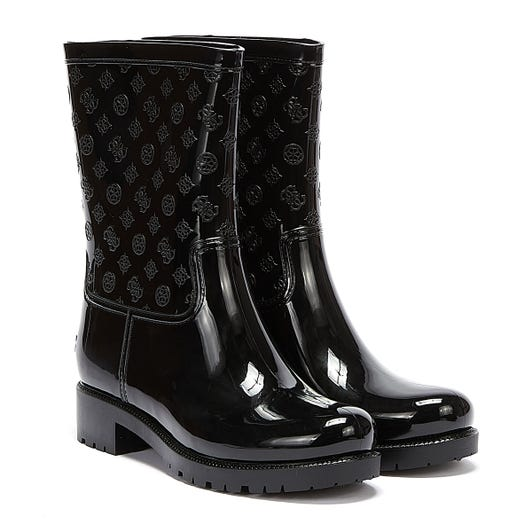 GUESS Ribba Womens Black Boots