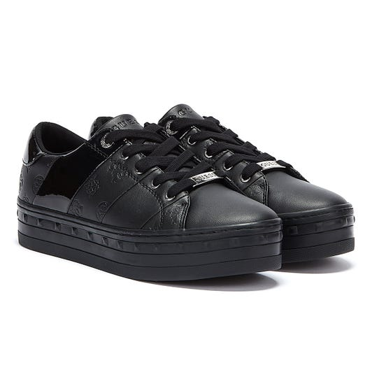 GUESS Bustin Womens Black Trainers