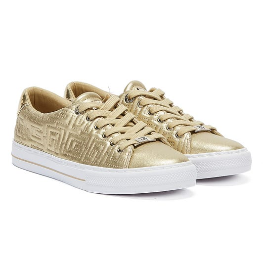 GUESS Goldenn Womens Gold Trainers