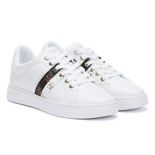 GUESS Reel Womens White Trainers