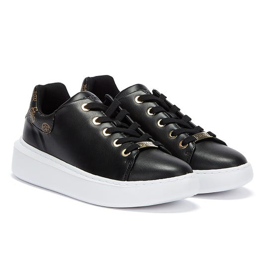 GUESS Bradly 2 Womens Black / Brown Trainers
