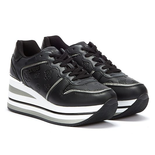 GUESS Hektor Womens Black Trainers