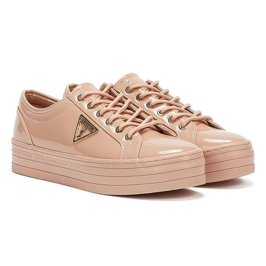 GUESS Bhania Womens Nude Trainers
