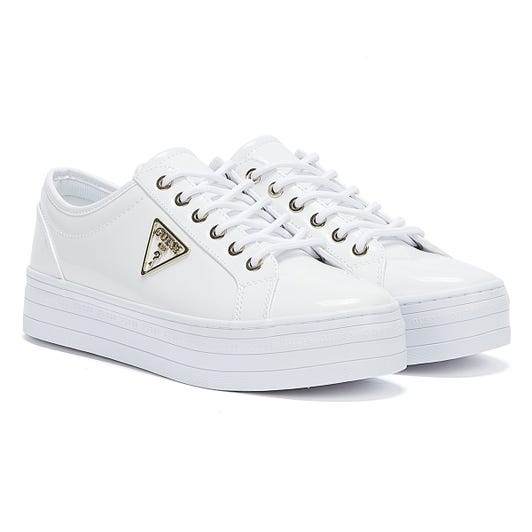 GUESS Bhania Womens White Trainers