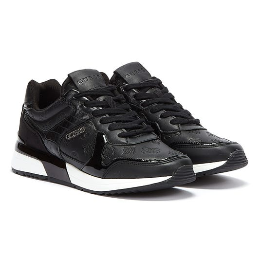 GUESS Maybel Womens Black Trainers