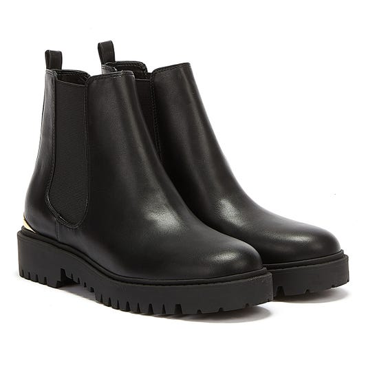 GUESS Olet Womens Black Ankle Boots