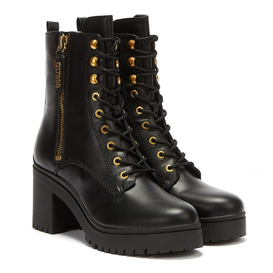 GUESS Cabra2 Womens Black Boots