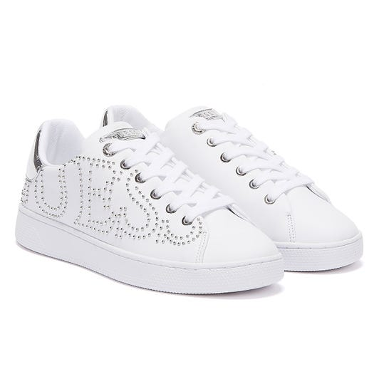 GUESS Razz Womens White Trainers
