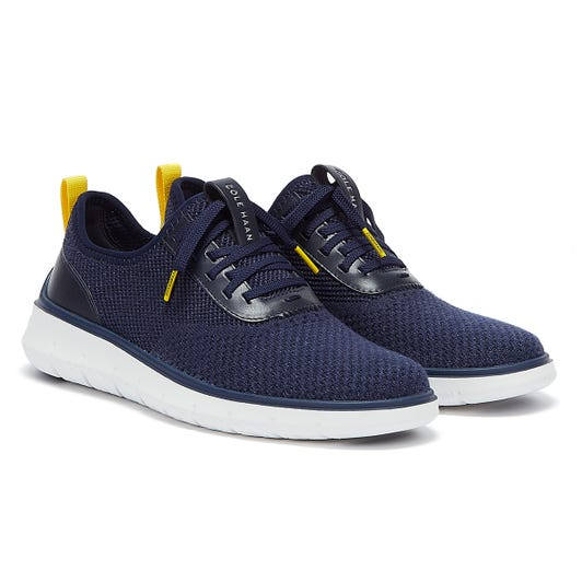 Cole Haan Generation ZeroGrand Stitchlite Mens Navy / White Trainers