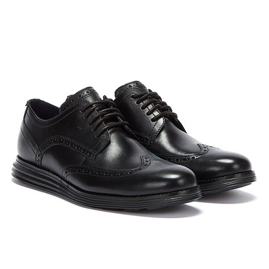 Cole Haan OriginalGrand Shortwing Oxford Mens Black / Black Trainers