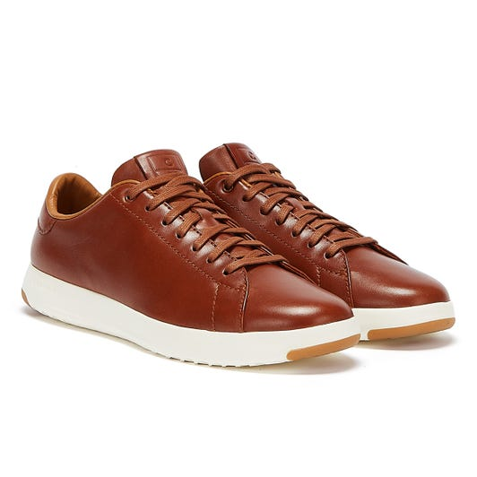 Cole Haan Grandpro Tennis Mens Brown Trainers